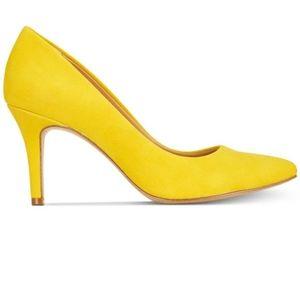 ☀️ INC Zitah yellow pumps Size 8 ☀️